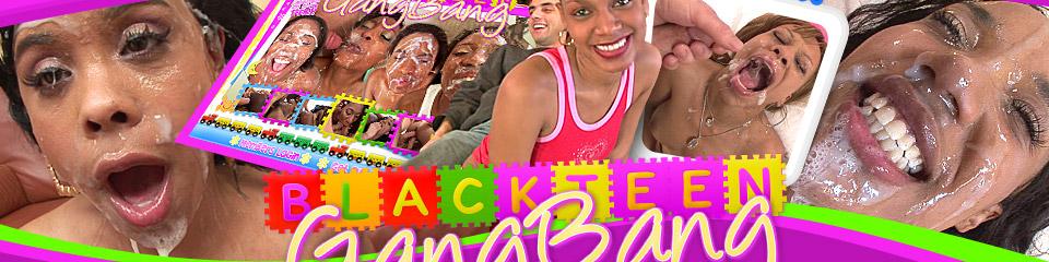 Black Teen Gang Bang 32
